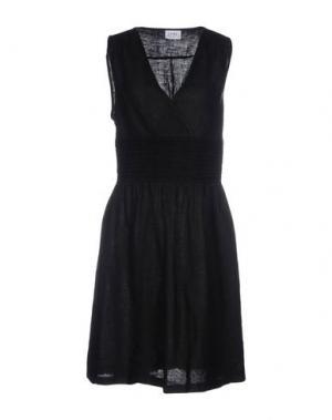Короткое платье LA FABBRICA del LINO. Цвет: черный