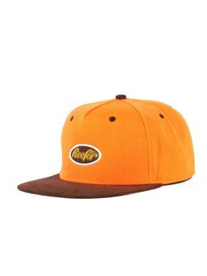 Бейсболка TRUESPIN Reefer True Spin. Цвет: оранжевый