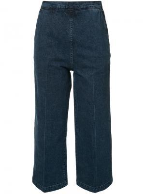 Укороченные брюки Rachel Comey. Цвет: синий
