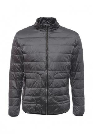 Куртка утепленная Grishko. Цвет: серый