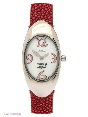 Часы MOOG. Цвет: красный