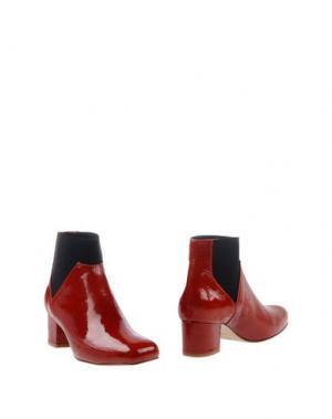 Полусапоги и высокие ботинки AVRIL GAU. Цвет: красный