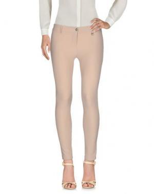 Повседневные брюки DIVE DIVINE. Цвет: песочный