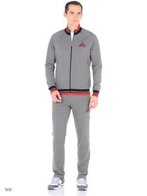 Спортивный костюм RED-N-ROCK'S. Цвет: темно-серый