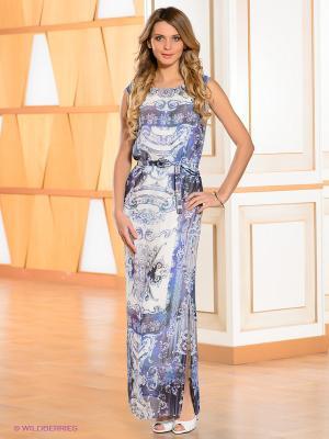 Платье Bandolera. Цвет: синий, белый, фиолетовый