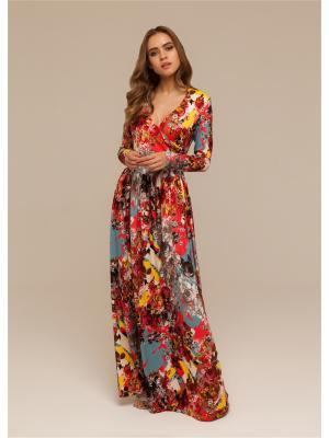 Платье в пол из трикотажа DEMURYA CONCEPT