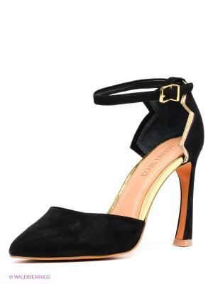 Туфли Antonio Biaggi. Цвет: черный, золотистый