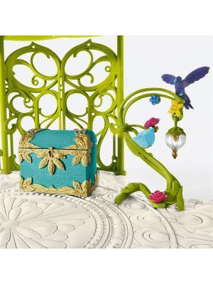 Аксессуары для Замка Эльфов, большой SCHLEICH. Цвет: синий, бежевый, светло-зеленый