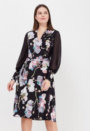 Платье Aelite. Цвет: черный