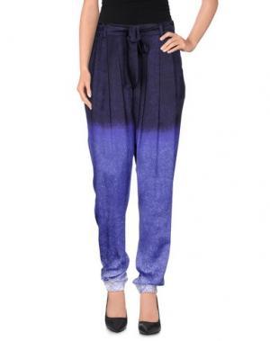 Повседневные брюки STILLS. Цвет: темно-фиолетовый