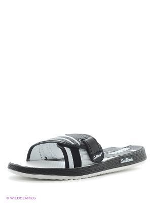 Туфли летние женские с верхом из синтетических кож облег.конст. BRIS. Цвет: черный