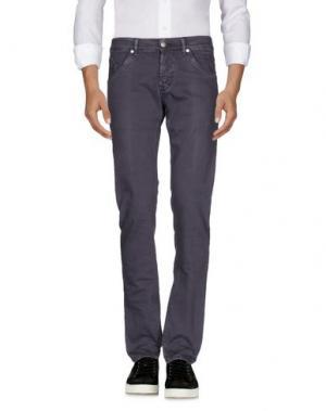 Джинсовые брюки DONDUP. Цвет: розовато-лиловый