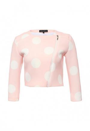 Куртка Disash. Цвет: розовый