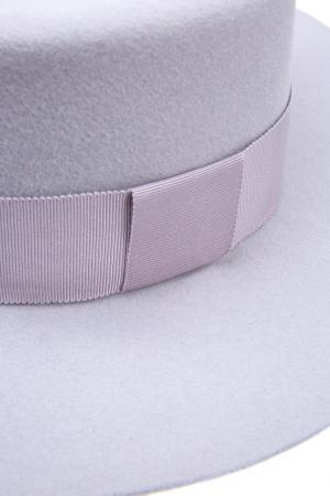 Фетровая шляпа MDWS. Цвет: сиреневый