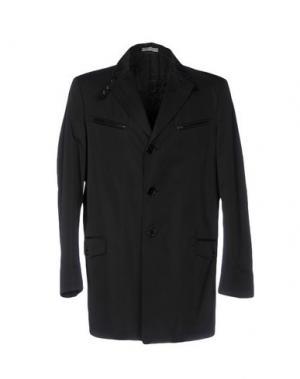 Легкое пальто NARDELLI. Цвет: черный