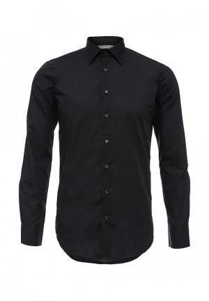 Рубашка Piazza Italia. Цвет: черный
