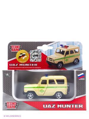 Машина Технопарк УАЗ hunter. Цвет: желтый