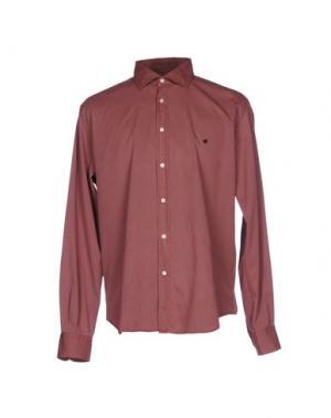 Pубашка BROOKSFIELD ROYAL BLUE. Цвет: пурпурный