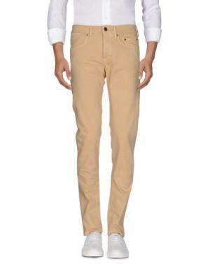 Джинсовые брюки SIVIGLIA DENIM. Цвет: песочный