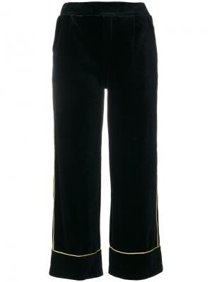 Укороченные брюки Inspecture Amuse. Цвет: чёрный