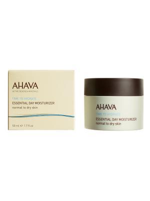 Крем увлажняющий для нормальной и сухой кожи AHAVA. Цвет: светло-бежевый, коричневый