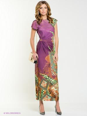 Платье МадаМ Т. Цвет: фиолетовый