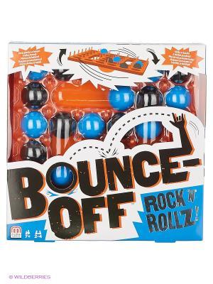 Настольная игра Отскок Рок-энд-Ролл Mattel. Цвет: голубой, черный