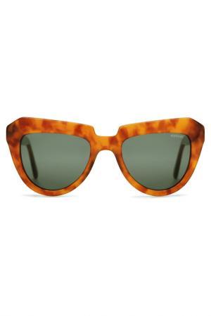 Солнцезащитные очки Komono. Цвет: оранжевый