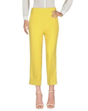 Повседневные брюки BLANCA. Цвет: кислотно-зеленый
