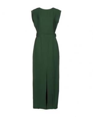 Длинное платье RAOUL. Цвет: зеленый