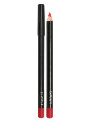 Кремовый карандаш для губ  MANGO тон 77 POETEA. Цвет: красный