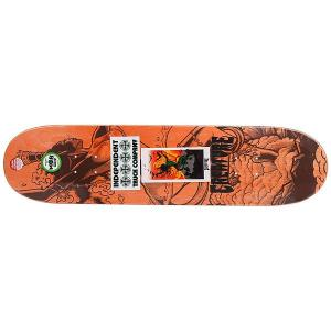 Дека для скейтборда  Gravette Viscerous Pro Green/Multi 32.04 x 8.25 (21 см) Creature. Цвет: зеленый,мультиколор