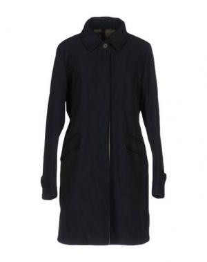 Пальто AQUARAMA. Цвет: темно-синий