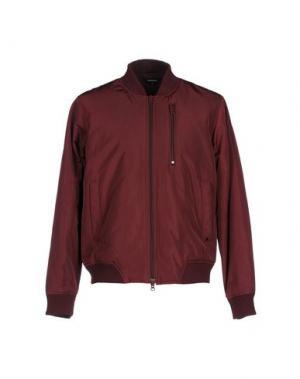 Куртка RED COLLAR PROJECT. Цвет: красно-коричневый