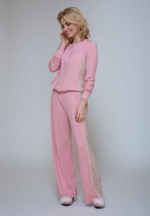 Комбинезон домашний Petit Pas. Цвет: розовый