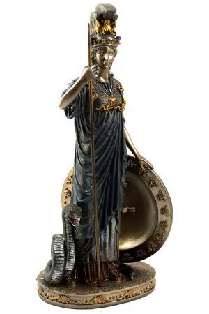 Статуэтка Афина 32 см Русские подарки. Цвет: бронзовый