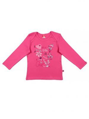 Рубашечка ясельная Cherubino. Цвет: розовый