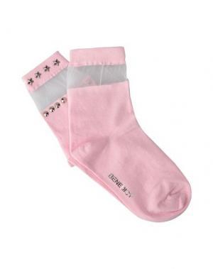 Короткие носки BENEDICT. Цвет: розовый