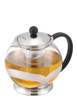 Чайник Miolla. Цвет: серебристый