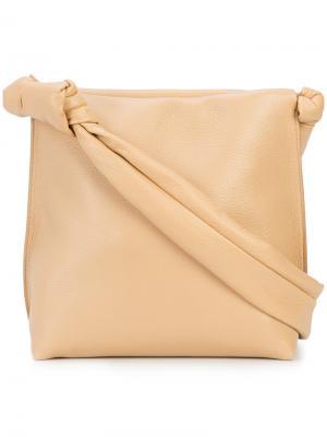 Wander shoulder bag The Row. Цвет: телесный