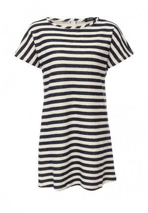 Платье LuAnn. Цвет: черно-белый