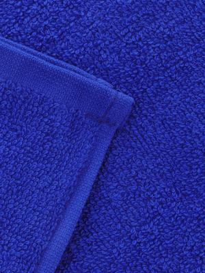 Набор из 4х махровых полотенец синий - 40*40, УзТ-НПБ-100-19 Aisha. Цвет: синий