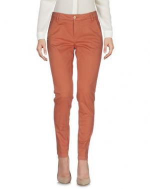 Повседневные брюки MANILA GRACE. Цвет: телесный