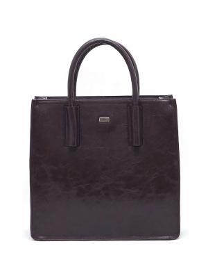 Сумка Solo true bags. Цвет: темно-коричневый
