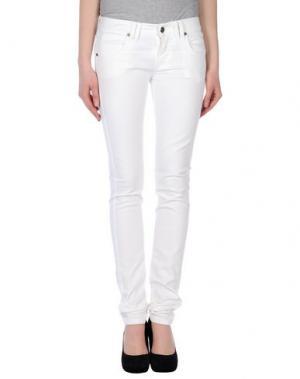Джинсовые брюки COLMAR. Цвет: белый