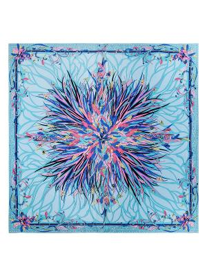 Платок Eleganzza. Цвет: голубой, розовый, светло-желтый