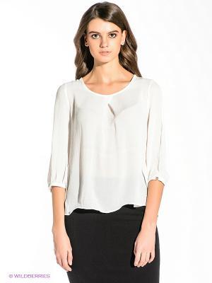 Блузка Vero moda. Цвет: молочный