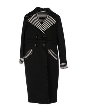 Легкое пальто GIORGIA & JOHNS. Цвет: черный