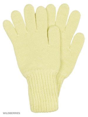 Перчатки Vittorio Richi. Цвет: светло-желтый