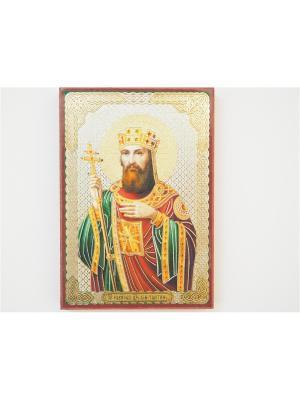 Именная икона Константин Bethlehem Star. Цвет: коричневый